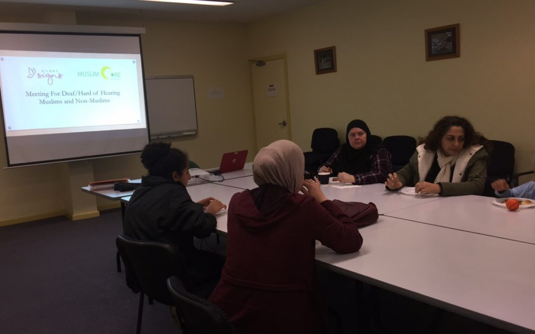 Monthly Meetings for Deaf and Hard of Hearing