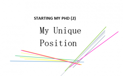 Starting my PhD: Part 2