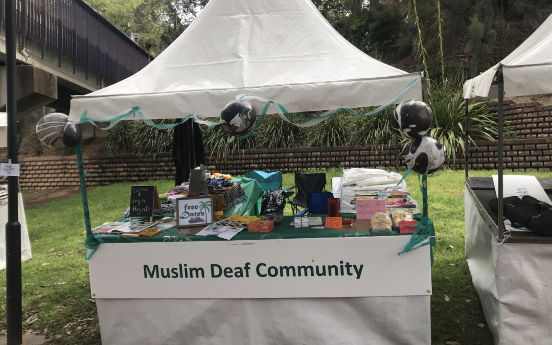 Our Stall at the 2018 NSW Deaf Festival